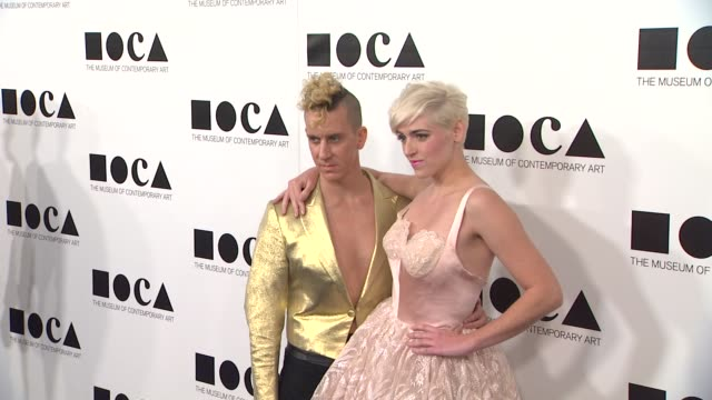 jeremy scott rosson crow at the the museum of contemporary art los angeles presents the annual moca gala at los angeles ca - los angeles museum of contemporary art stock videos and b-roll footage
