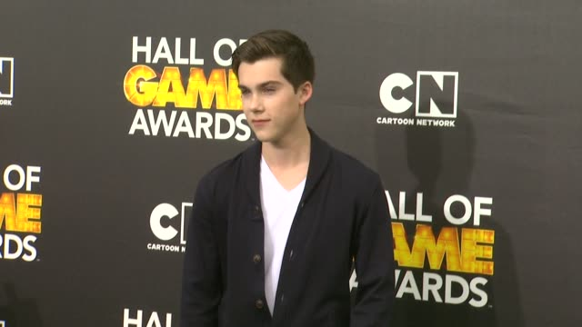 Jeremy Shada at Cartoon Network Hosts Fourth Annual Hall Of Game Awards at Barker Hangar on February 15 2014 in Santa Monica California