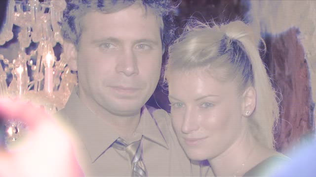 jeremy sisto and guest at the 'broken' premiere and after party at d'or at amalia in new york new york on october 2 2007 - dor stock videos & royalty-free footage
