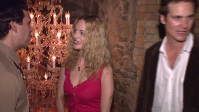 jeremy sisto and heather graham at the 'broken' premiere and after party at d'or at amalia in new york new york on october 2 2007 - dor stock videos & royalty-free footage