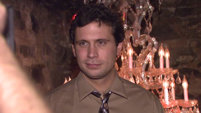 jeremy sisto at the 'broken' premiere and after party at d'or at amalia in new york new york on october 2 2007 - dor stock videos & royalty-free footage