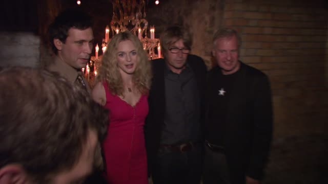 jeremy sisto heather graham allan white and jerry wayne at the 'broken' premiere and after party at d'or at amalia in new york new york on october 2... - dor stock videos & royalty-free footage