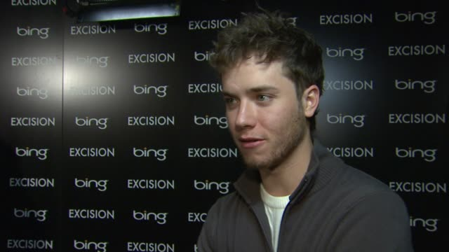 jeremy sumpter on being at the event at bing bar sundance 2012 - day 3 in park city, utah, on 1/21/2012 - 3日目点の映像素材/bロール