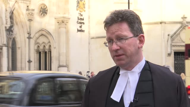 London Royal Courts of Justice EXT Jeremy Wright MP interview SOT re lenient sentences John Worboys GVs Royal Courts of Justice
