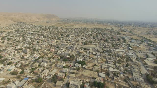 jericho and its vicinity suburbs - palestinian territories stock videos and b-roll footage