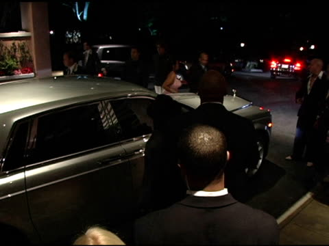 jermaine dupri and janet jackson at the clive davis' 2005 pregrammy awards party arrivals at the beverly hilton in beverly hills california on... - janet jackson stock videos & royalty-free footage