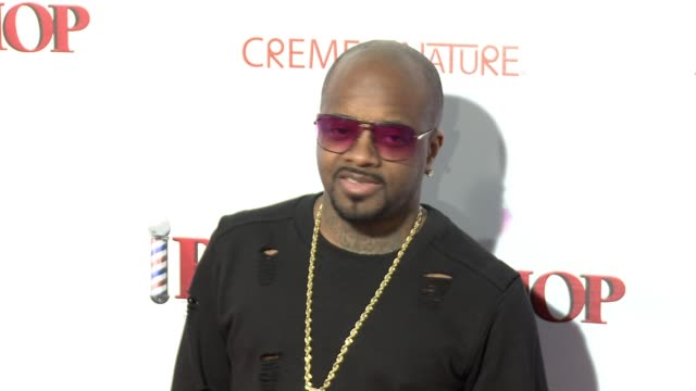 stockvideo's en b-roll-footage met jermaine dupri at barbershop the next cut los angeles premiere at tcl chinese theatre on april 06 2016 in hollywood california - tcl chinese theatre