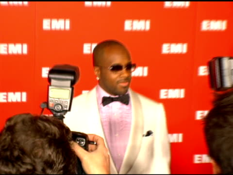 jermaine dupri at the emi post-grammy party on february 8, 2006. - emi grammy party stock videos & royalty-free footage