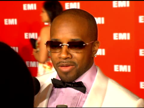 jermaine dupri on what he thought of the grammy show, on leaving his party to come to the emi party at the emi post-grammy party on february 8, 2006. - emi grammy party stock videos & royalty-free footage