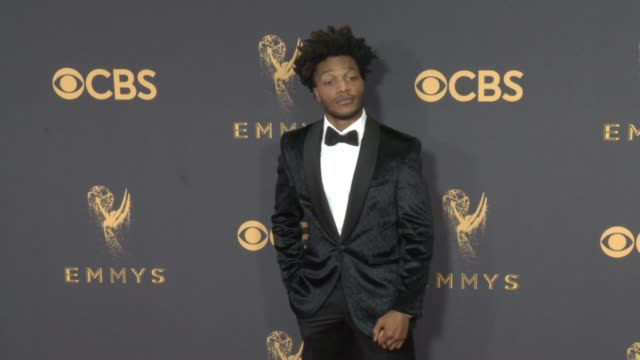 Jermaine Fowler at the 69th Annual Primetime Emmy Awards at Microsoft Theater on September 17 2017 in Los Angeles California