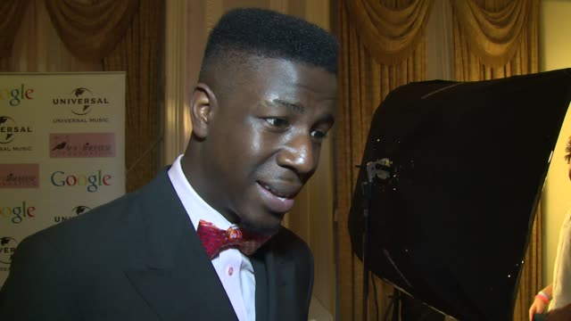 stockvideo's en b-roll-footage met interview jermaine jackman on amy his memories the foundation and his future plans at the amy winehouse foundation ball on 18th november 2014 in... - middelenmisbruik