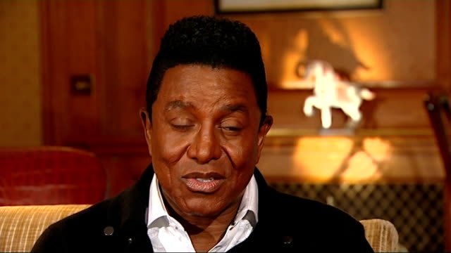 london jermaine jackson interview sot we've waited so long lets let the focus be on getting justice for michael the concert we know its a great thing... - justice concept stock videos and b-roll footage