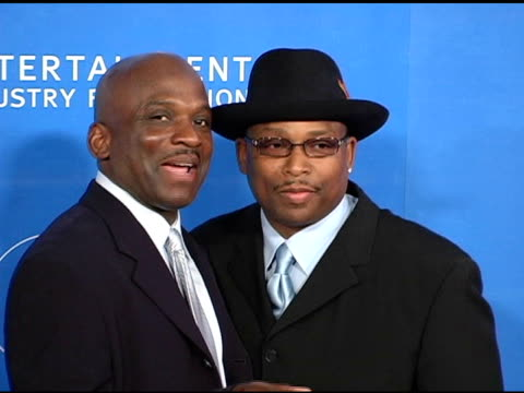 jerome and terry lewis at the grammy jam celebrating the music of earth wind and fire at the wiltern theater in los angeles california on december 11... - wiltern theater stock videos and b-roll footage