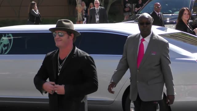 jerrod niemann arriving to the 52nd academy of country music awards in celebrity sightings in las vegas - academy of country music awards stock videos & royalty-free footage