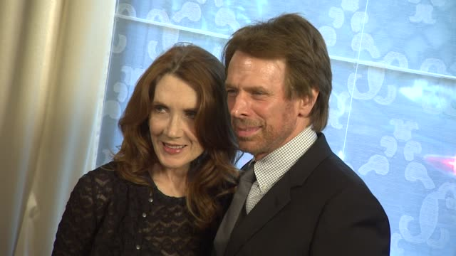 Jerry Bruckheimer and Linda Bruckheimer at the Wiesenthal Center To Honor Tom Cruise At 2011 National Tribute Dinner at Beverly Hills CA