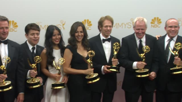 Jerry Bruckheimer at 66th Primetime Emmy Awards Photo Room in Los Angeles CA