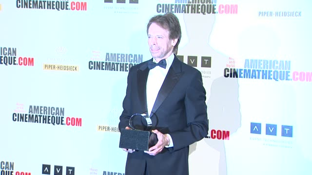 jerry bruckheimer at american cinematheque's 27th annual award presentation honoring jerry bruckheimer in beverly hills ca on - american cinematheque stock videos & royalty-free footage