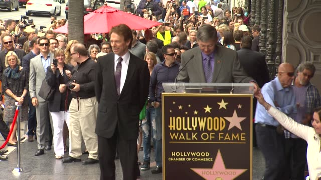 Jerry Bruckheimer at Jerry Bruckheimer Honored with Star on the Hollywood Walk of Fame in Hollywood CA on 6/24/13