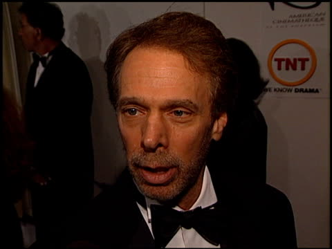 jerry bruckheimer at the american cinematheque honors nicolas cage at the beverly hilton in beverly hills california on october 28 2001 - nicolas cage stock videos & royalty-free footage
