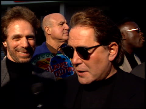 Jerry Bruckheimer at the 'Bad Boys' Premiere at the Cinerama Dome at ArcLight Cinemas in Hollywood California on April 6 1995