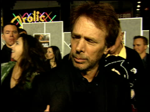 jerry bruckheimer at the glory road premiere at pantages theatre in hollywood, california on january 5, 2006. - パンテージスシアター点の映像素材/bロール