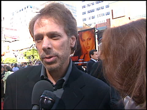 Jerry Bruckheimer at the 'Gone in 60 Seconds' Premiere on June 6 2000