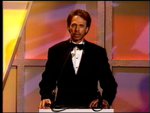 Jerry Bruckheimer at the Motion Picture Ball for Tom Cruise at the Beverly Hilton in Beverly Hills California on September 22 1996