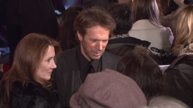 Jerry Bruckheimer at the 'National Treasure Book of Secrets' New York Premiere at Ziegfeld Theatre in New York New York on December 13 2007