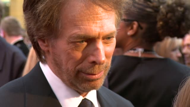 Jerry Bruckheimer at the Prince of Persia Premiere UK at London England