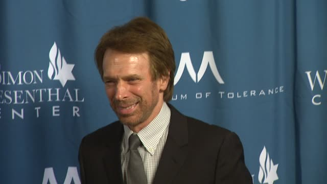 Jerry Bruckheimer at the Wiesenthal Center To Honor Tom Cruise At 2011 National Tribute Dinner at Beverly Hills CA