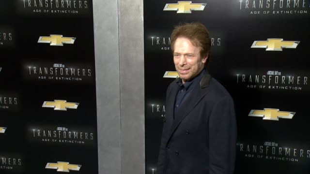 Jerry Bruckheimer at Transformers Age Of Extinction New York Premiere at Ziegfeld Theatre on June 25 2014 in New York City