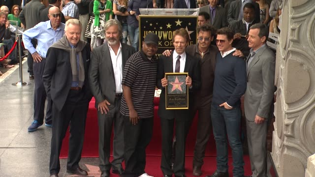 CLEAN Jerry Bruckheimer Honored with Star on the Hollywood Walk of Fame EVENT CAPSULE CLEAN Jerry Bruckheimer Honored at Hollywood Walk Of Fame on...