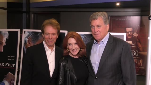 Jerry Bruckheimer Linda Bruckheimer and Tom Bernard at the Premiere Of Sony Pictures Classics' 'Mark Felt The Man Who Brought Down The White House'...