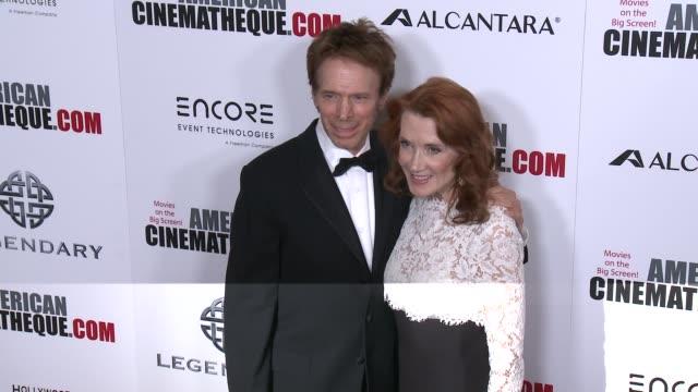 Jerry Bruckheimer Linda Bruckheimer at 30th Annual American Cinematheque Awards Gala in Los Angeles CA