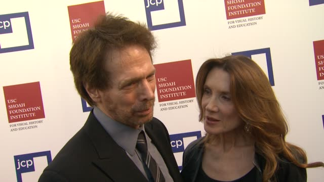 Jerry Bruckheimer on being a part of the night what he appreciates about the work the USC Shoah Foundation Institute is doing what he's most looking...
