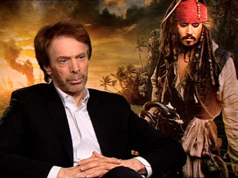Jerry Bruckheimer on enhancing the experience of the audience and more at the Pirates of the Caribbean On Stranger Tides junkets at London England