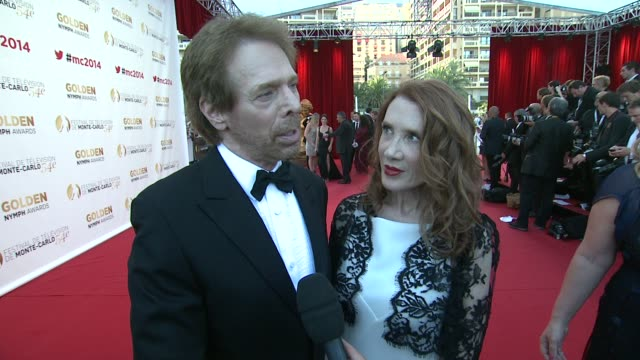 INTERVIEW Jerry Bruckheimer on it's all being about the fans at the 54th MonteCarlo Television Festival Day 5 on June 11 2014 in MonteCarlo Monaco