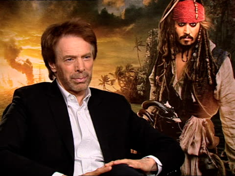 Jerry Bruckheimer on the changes in the film industry the advancement in technologies and more at the Pirates of the Caribbean On Stranger Tides...