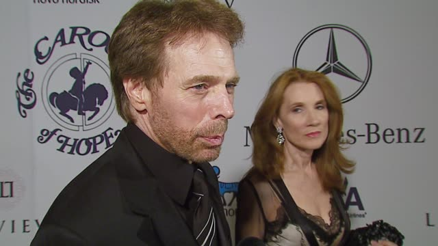 Jerry Bruckheimer on the event and Jay Leno at the MercedesBenz Presents the 17th Carousel of Hope Ball at the Beverly Hilton in Beverly Hills...