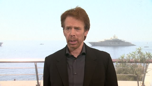 INTERVIEW Jerry Bruckheimer on upcoming projects Top Gun Beverly Hills Cop at 54th MonteCarlo Television Festival Day 3 on June 09 2014 in MonteCarlo...
