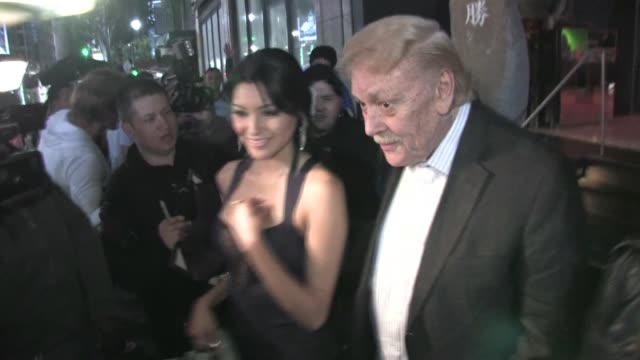 Jerry Buss at Katsuya in Hollywood