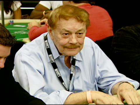 Jerry Buss at the 6th Annual World Poker Tour at the Commerce Casino in Los Angeles California on March 2 2008