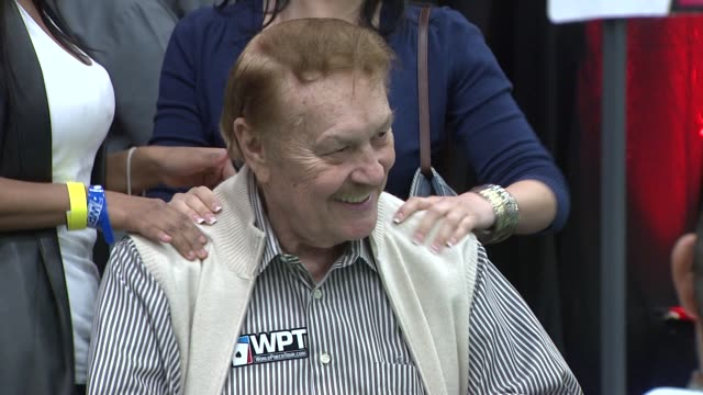 Jerry Buss at the 7th Annual World Poker Tour Invitational at Los Angeles CA