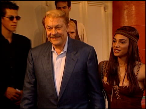 Jerry Buss at the 'Love Stinks' Premiere at the Mann Village Theatre in Westwood California on August 11 1999