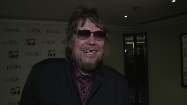 vídeos y material grabado en eventos de stock de interview jerry dammers on his recognition nelson mandela artists against apartheid and the economy at the ivor novello awards 2014 at the grosvenor... - hotel grosvenor house londres