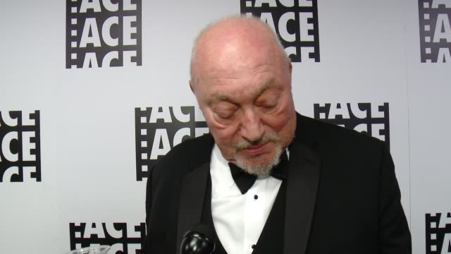 INTERVIEW Jerry Greenberg on the honor at 65th Annual ACE Eddie Awards in Los Angeles CA