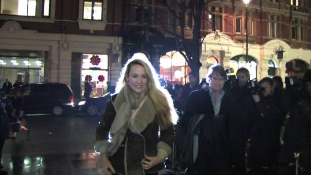 jerry hall arrives for the gala performance of the nutcracker the nutcracker gala performance arrivals at the coliseum on december 15 2010 in london... - the nutcracker named work stock videos & royalty-free footage