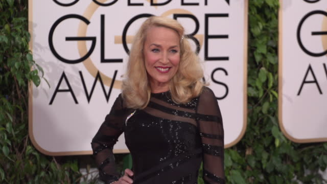Jerry Hall at the 73rd Annual Golden Globe Awards Arrivals at The Beverly Hilton Hotel on January 10 2016 in Beverly Hills California 4K