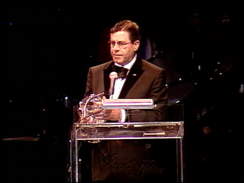 Jerry Lewis at the Jerry Lewis Benefit at the Beverly Hilton in Beverly Hills California on May 12 1989