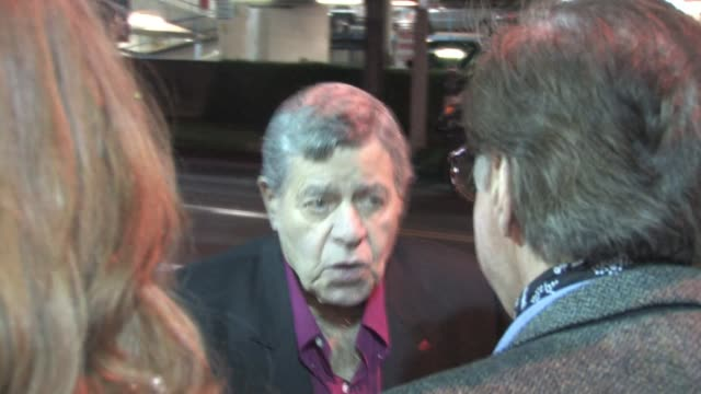 Jerry Lewis at Writers Guild Theater in Beverly Hills at the Celebrity Sightings in Los Angeles at Los Angeles CA